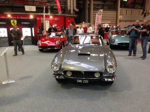 DK Engineering cars at NEC stand